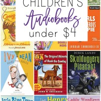 21 Children's Audiobooks for under $4