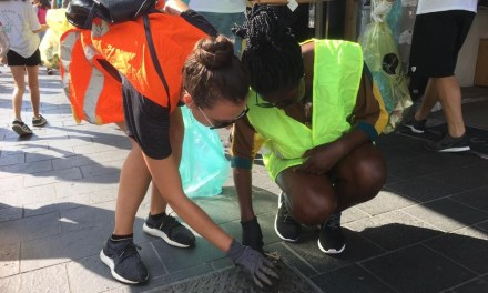We cleaned Nice together with 13 million people from 144 countries