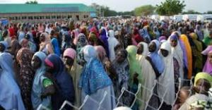 374,000 IDPs enumerated in North East