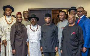 Clark, Niger Delta leaders back down; agree to work with FG