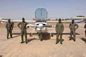 Air Force inducts training planes; Army decorates gallant officers
