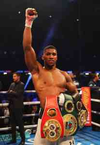 Anthony Joshua to get N4.7 billion for winning against Frenchman, Takam