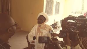 Proof of life: Zakzaky speaks to the press