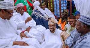 Fayose bristles as Buhari, others attend Ganduje's daughter, Ajimobi's son marriage