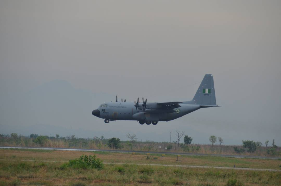 Air Force lifts troops to Gambia for ECOWAS Mission