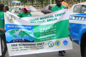 When the Glaucoma event took place in Abuja