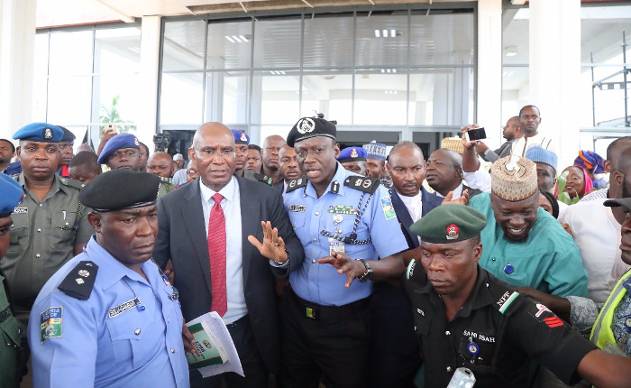 "Update: ""Cow boy"" Omo-Agege arrested; Police, SSS bosses get 24 hours to find mace"