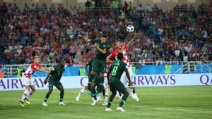 Nigeria disappoints in match against Croatia