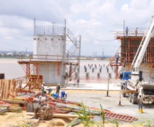 Minister Inspects 2nd Niger Bridge, Expresses Satisfaction At Work Pace