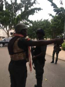 EFCC, Police, Lay Siege to Ekweremadu's Residence…No going in or out