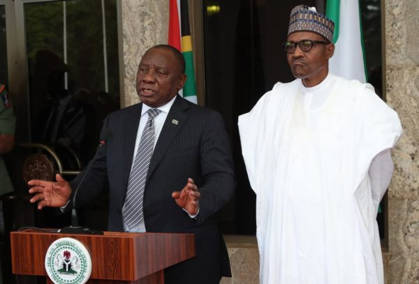 Mixed grill as Presidency says Buhari's visit to South Africa on course