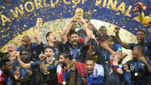 For second time, France are World Cup Champions