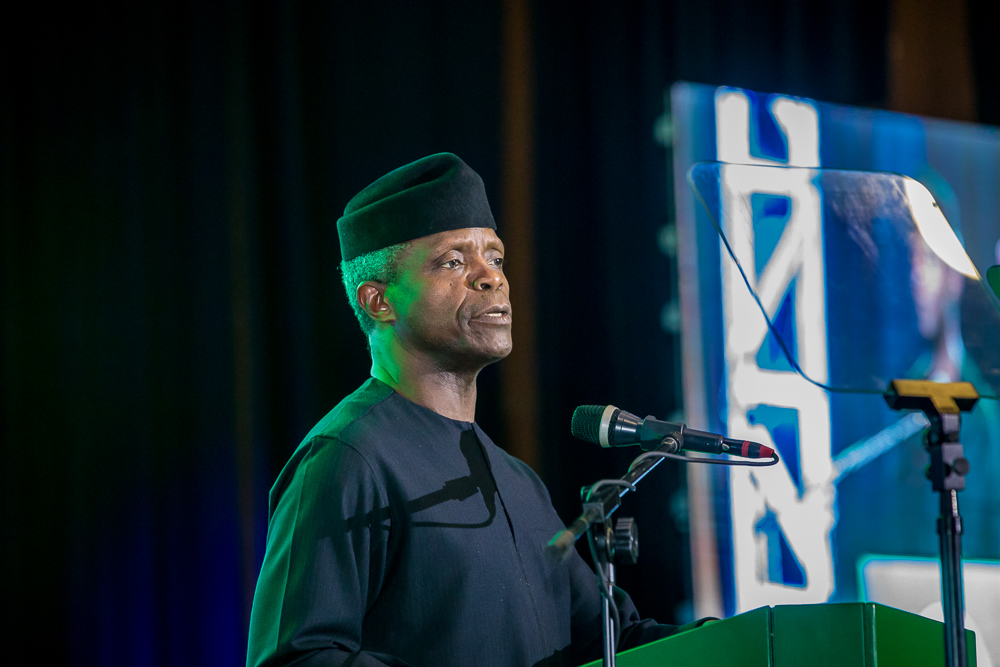Treat women as equals, says Osinbajo on Fathers' Day; Aisha Buhari applauds female soldiers, policewomen