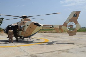 NAF loses personnel in crashed chopper in Borno