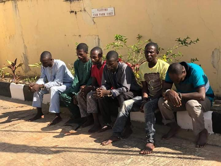 SSS arrests kidnappers, gun runners, IED experts others