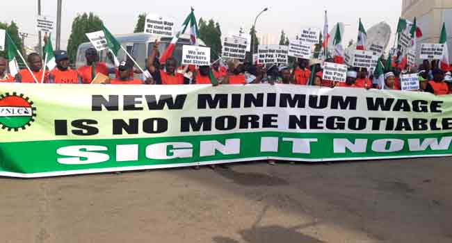 NLC fumes as council of state fixes minimum wage at N27,000