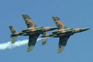 Air Force destroys terrorists' meeting venue near Baga, Borno State