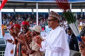 Presidency, PDP disagree over Buhari's rally in Owerri