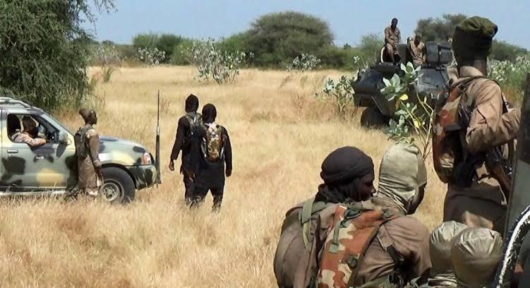 Breaking: Auno town, near Maiduguri under attack; Buhari assures on security