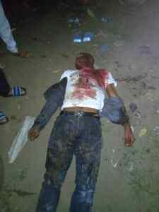 Gov. Okowa's aide gunned down, mourns (Reader's discretion advised)