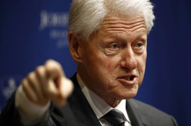 Bill Clinton visits as Buhari, Atiku, others sign peace accord