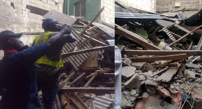 From Lagos to Ibadan, now back to Lagos: residents trapped again in collapsed building