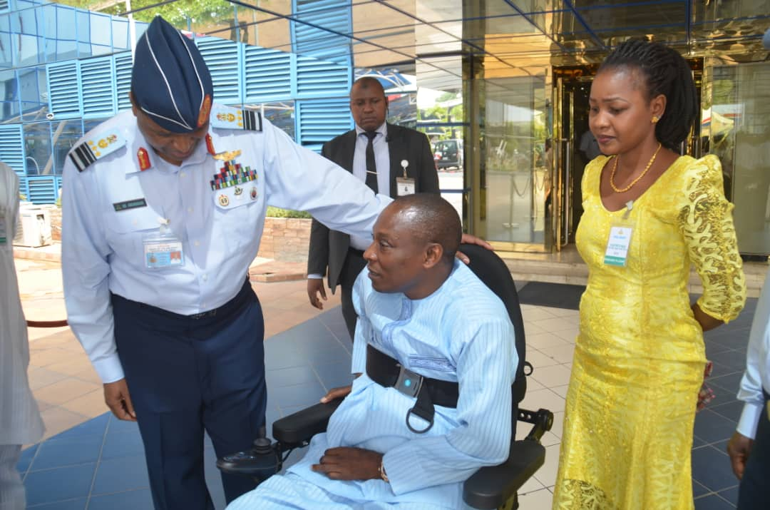 Five years after, Air Force makes good promise to retired paralysed officer