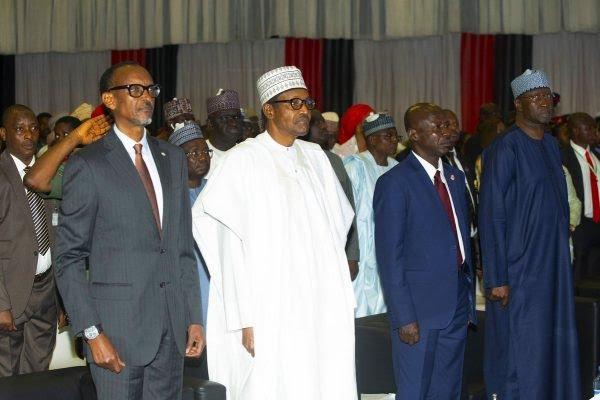 Anti-Corruption: What Kagame, Buhari, Lumumba, Falana Said at Abuja Summit