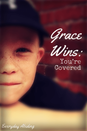 Grace Wins: You're Covered