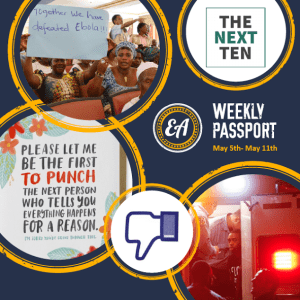 Weekly Passport: Empathy Cards, Jailitis, & Slaughtered Bloggers