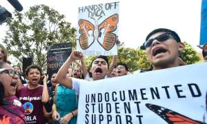 DREAMers at a rally