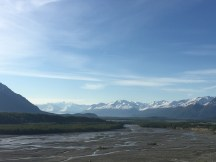 braided matanuska river