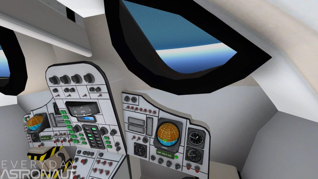 Horizon out the cockpit