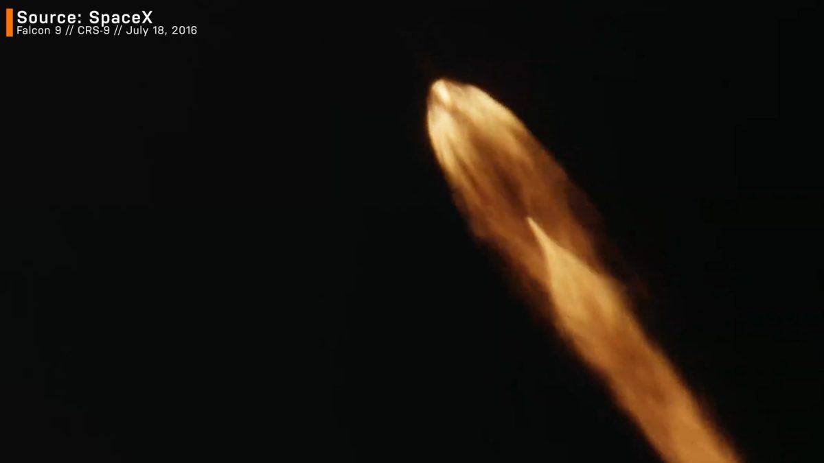 CRS-9 spacex aerospike