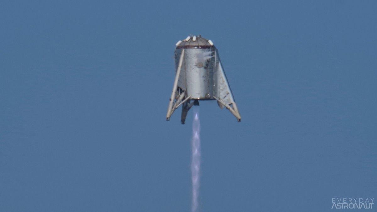 Starhopper 150 meter hop