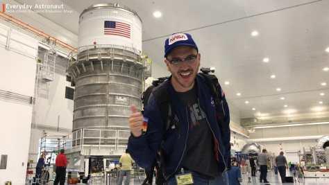 NASA Interim Cryogenic Propulsion Stage Everyday Astronaut SLS
