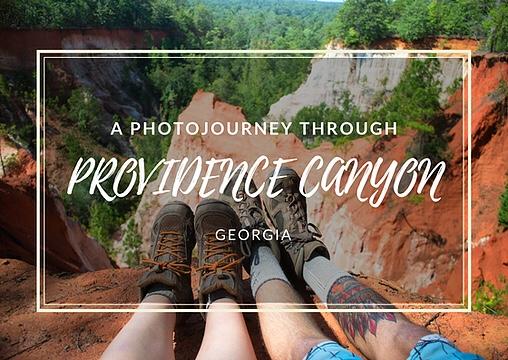 Providence Canyon, Georgia. Georgia's Little Grand Canyon