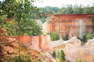 Providence Canyon, Georgia. Georgia's Little Grand Canyon