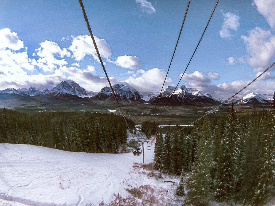 The Best Places To Ski And Snowboard In Canada: Lake Louise