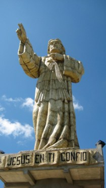 jesus christ statue, san juan del sur, Nicaragua
