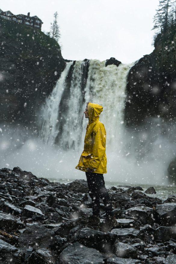 Snoqualmie Falls, Seattle, Washington USA Photography