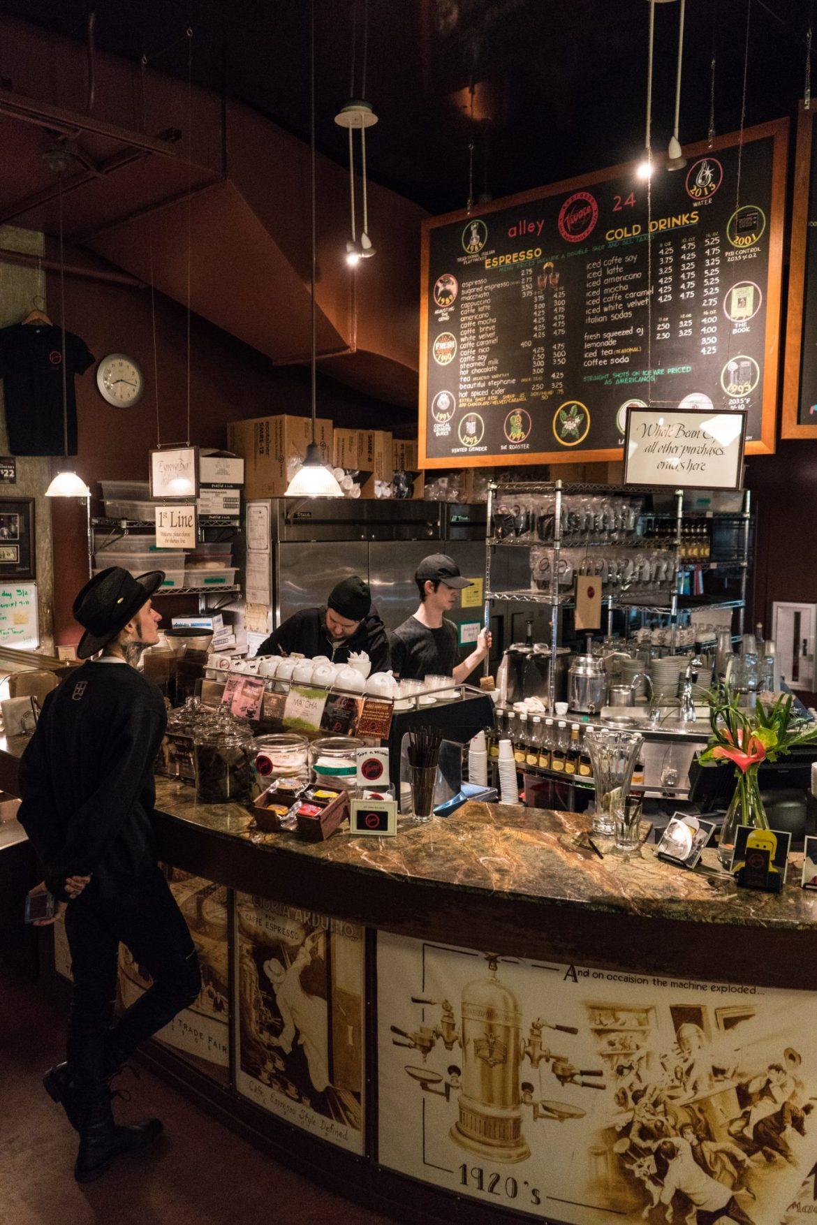 Espresso Vivace, Seattle