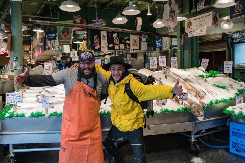 Pike Place Fish Market Co, Seattle, Washington