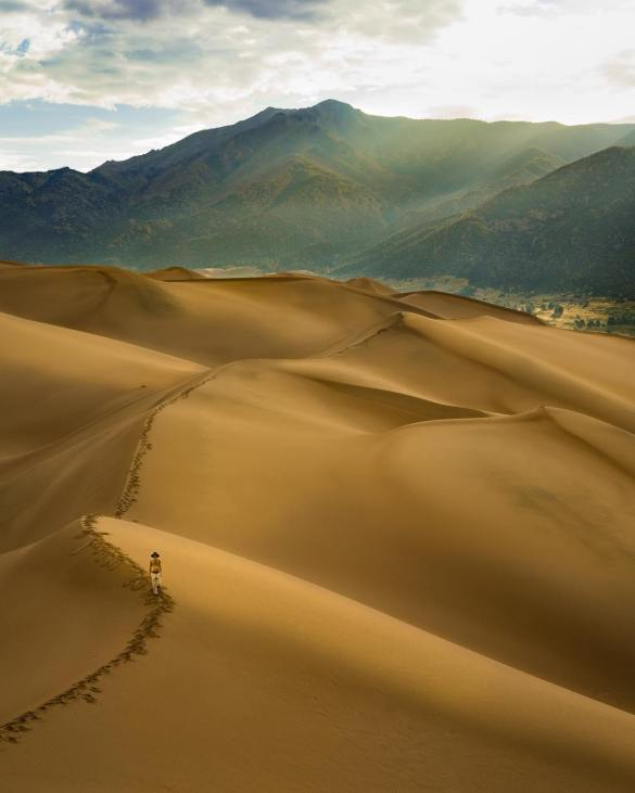 Great Sand Dunes, Colorado USA Photography, landscape photography