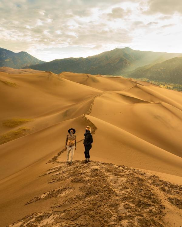 Hiking The Great Sand Dunes National Park Colorado