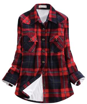 Fleece Lined Flannel