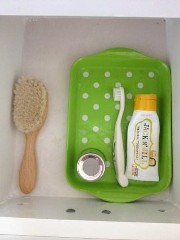 Teeth and Hair Brushing Toddler