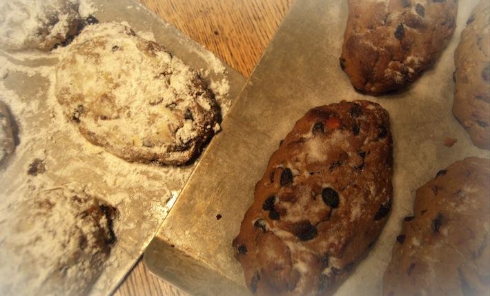 Christmas Stollen (still, still, still)--sugar powdered, and not