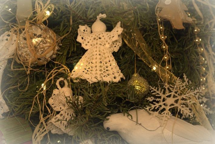still still still...angel ornament