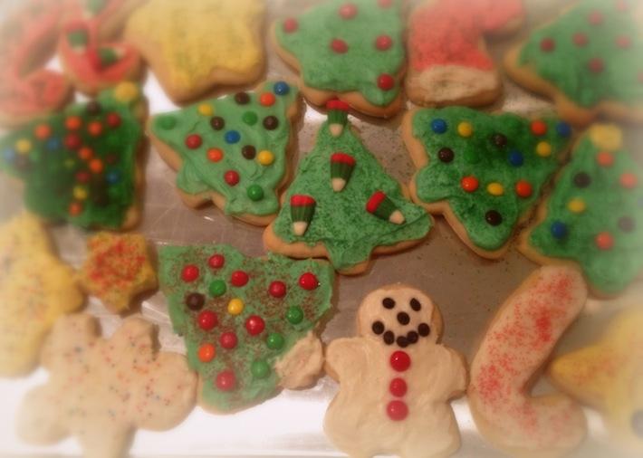 Sonya's sugar cookies en masse